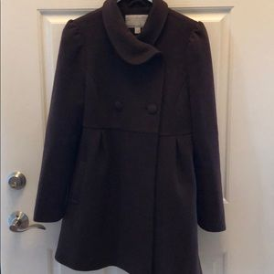Old Navy brown wool jacket size small